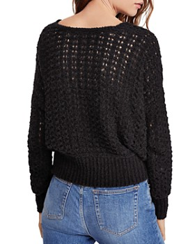 Free People - Best Of You Crochet Sweater