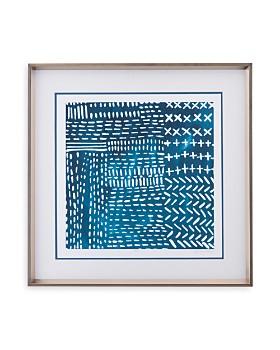 Bassett Mirror - Sashiko Stitches IV Wall Art