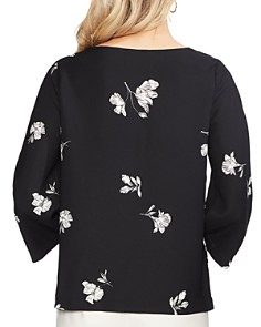 VINCE CAMUTO - Floral Bell-Sleeve Top