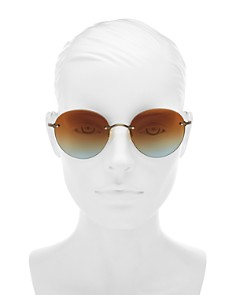 Oliver Peoples - Women's Coliena Round Sunglasses, 57mm