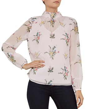 7182b8f0009b4a Ted Baker Long Sleeve Shirts - Bloomingdale s