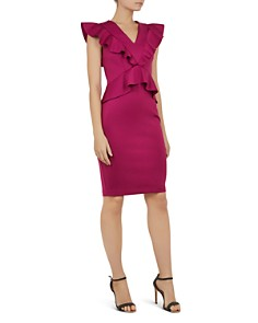 Ted Baker - Alair Ruffle-Trimmed Dress