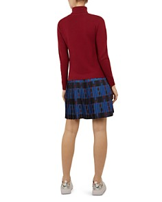 Ted Baker - Colour by Numbers Paraz Layered-Look Dress