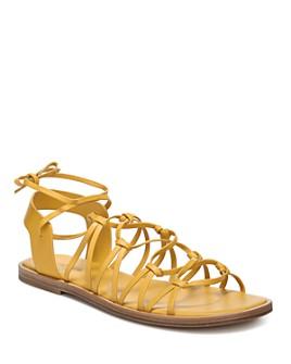 Vince - Women's Palmera Leather Lace Up Sandals