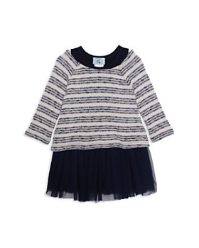 7a25497d2b736 Pippa & Julie - Girls' Layered-Look Sweater & Tutu Dress - Little Kid ...