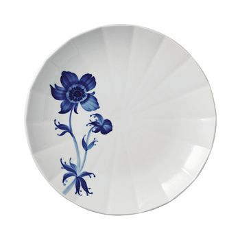 Royal Copenhagen - Blomst French Anemone Salad Plate - 100% Exclusive