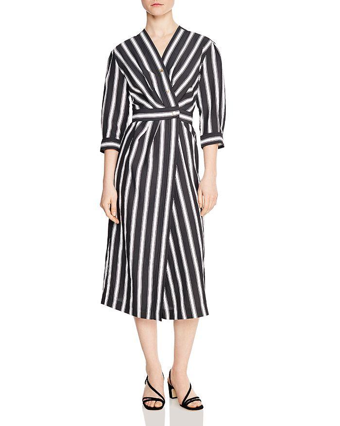 23cb802a9e02 Sandro - Carl Striped Midi Dress