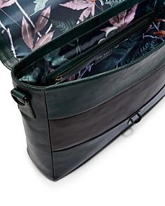 Ted Baker - Bocelli Striped Leather Satchel