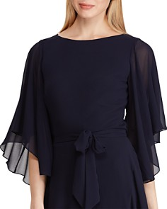 Ralph Lauren - Ruffled Georgette Dress