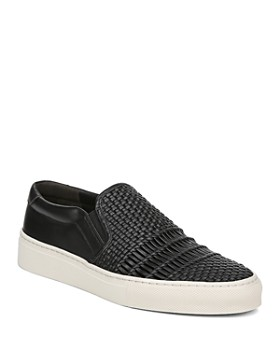 Via Spiga - Women's Sara Woven Leather Slip-On Sneakers