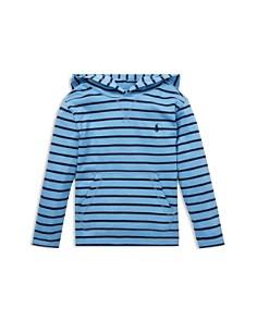 Ralph Lauren - Boys' Striped Hooded Tee - Little Kid
