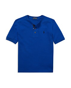 Ralph Lauren - Boys' Henley Shirt - Big Kid