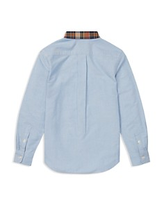 Ralph Lauren - Boys' Plaid Collar Oxford Shirt- Big Kid