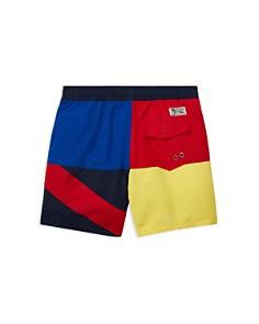 Ralph Lauren - Boys' Captiva Flag Swim Trunks - Little Kid