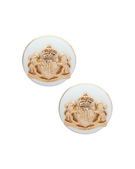 Ralph Lauren - Crest Stud Earrings