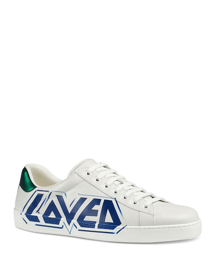 51b90f1fd78 Gucci - Men s Loved Leather Sneakers