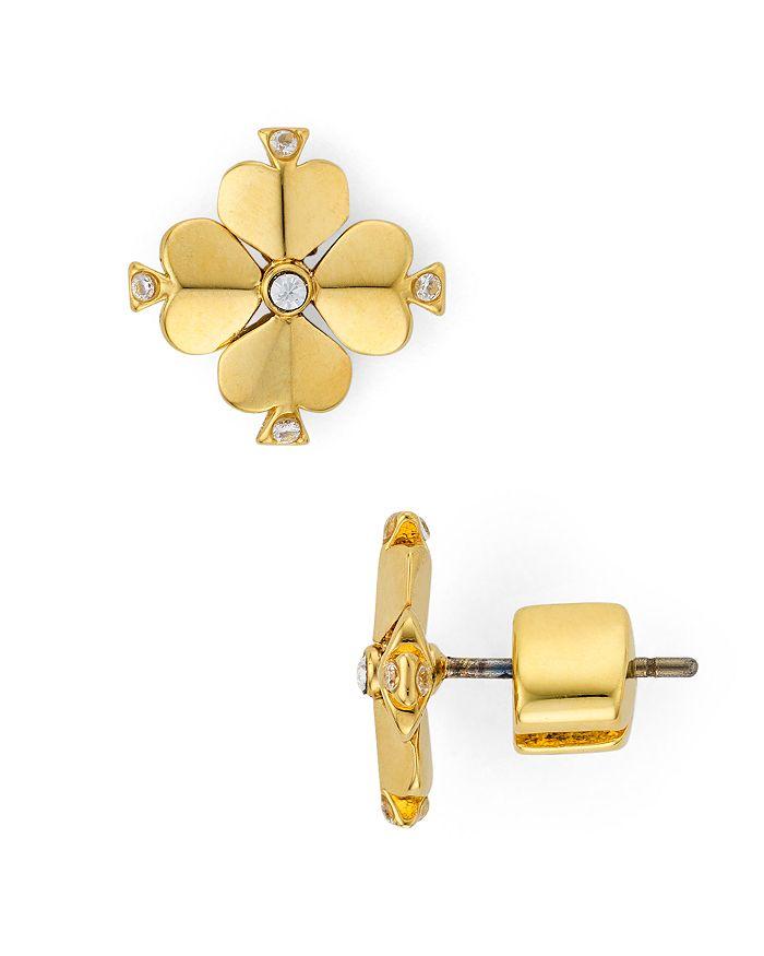 Spade Flower Earrings