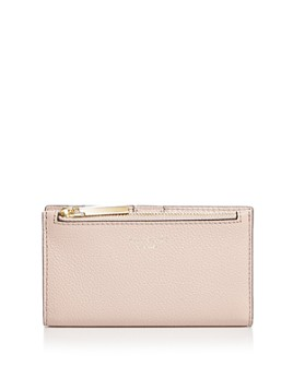 kate spade new york - Small Slim Leather Bifold Wallet