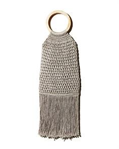 Binge Knitting - Maya Small Fringe Tote