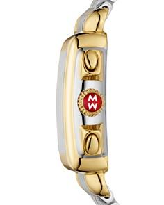 MICHELE - Signature Deco Two-Tone Diamond Dial Watch Head, 33mm x 35mm