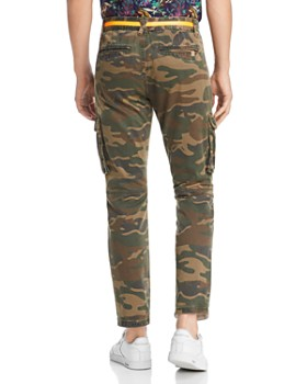 BLANKNYC - Camouflage-Print Bootcut Fit Cargo Pants