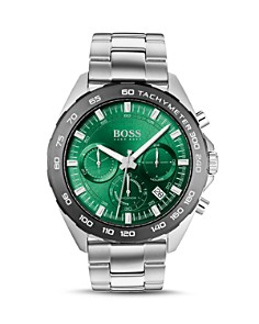 BOSS Hugo Boss - Intensity Green Dial Chronograph, 44mm