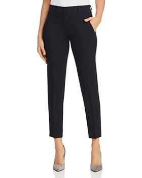 Armani - Cropped Textured Pants