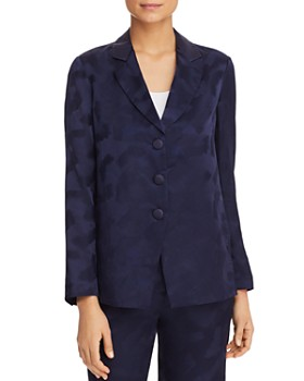 Armani - Printed Crossover-Back Jacket
