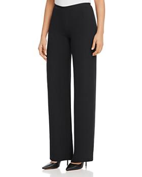 Armani - Wide-Leg Silk Pants