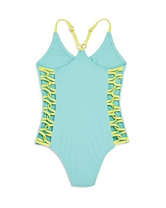 L*Space - Girls' Little Leilani Racerback One-Piece Swimsuit - Little Kid, Big Kid