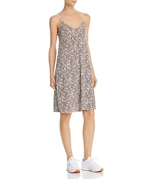 ATM Anthony Thomas Melillo - Leopard-Print Slip Dress