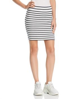 ATM Anthony Thomas Melillo - Striped Tube Skirt