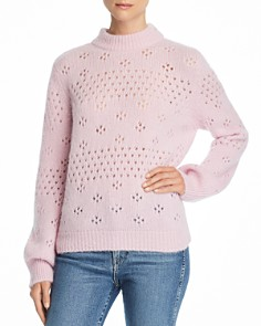 Anine Bing - Candace Open-Knit Sweater