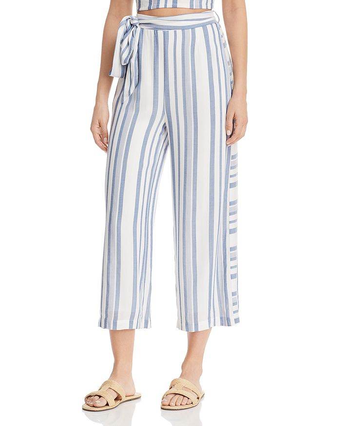 Lost and Wander - Daiquiri Cropped Tie-Front Pants