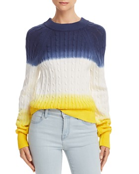 Veda - Crema Dip-Dyed Cable Sweater - 100% Exclusive
