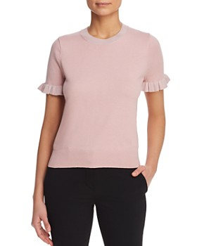 kate spade new york - Ruffle-Trimmed Sweater