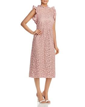 bdbe467e1af kate spade new york - Ruffled Lace Dress ...