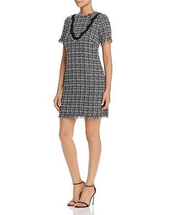 kate spade new york - Short-Sleeve Tweed Dress