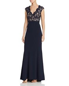 Eliza J - Lace Bodice Gown