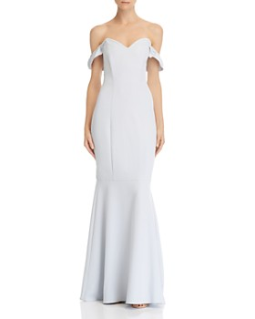 b4a13edb0c6 WAYF - Gabriela Off-the-Shoulder Gown ...