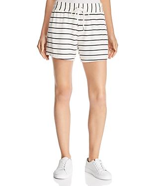 Splendid Shorts STRIPED DRAWSTRING SHORTS