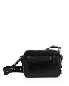 ALLSAINTS - Clip Leather Convertible Belt Bag