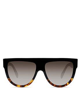 CELINE - Unisex Flat Top Aviator Sunglasses, 60mm