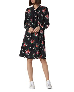 L.K.Bennett - Lotte Floral-Print Silk Dress