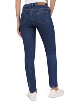 Gerard Darel - Noelie Low Rise Slim-Leg Jeans in Blue