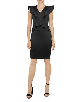 be6961ff1 Ted Baker - Alair Ruffle-Trimmed Dress ...