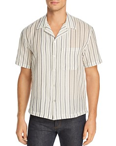 Lemlem - Camp Notch Collar Striped Regular Fit Shirt