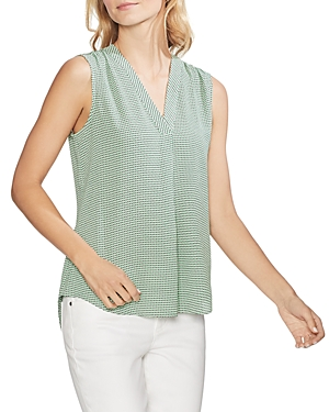 Vince Camuto Tops SLEEVELESS GEO-PRINT TOP