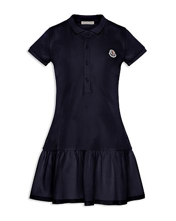 huge discount 1dffe 68aac Moncler Girls' Abito Maniche Corte Polo Dress - Big Kid ...