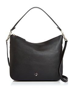 kate spade new york - Medium Pebbled Leather Shoulder Bag